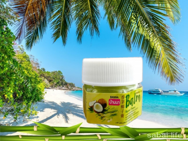Бальзам для пяточек кокос-лемонграсс Banna