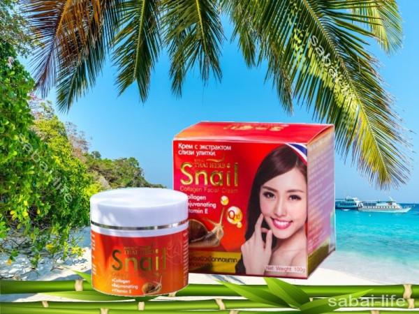 Крем со слизью улитки Thai Herb